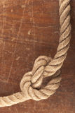 Knot on Wood Stock Photo