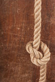 Knot on Wood Stock Photos