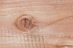 Knot on Wood Panel Stock Photos