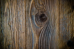 Knot in wooden wall background royalty free stock photos