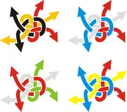 Knoten 2 vektor abbildung