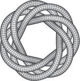 Knoten-Abbildung lizenzfreie abbildung