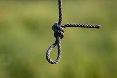 Knoten des Seils Lizenzfreie Stockfotografie