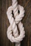 Knoten in Form von acht Lizenzfreies Stockfoto