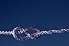 Knoten mit acht Seilen Lizenzfreies Stockfoto