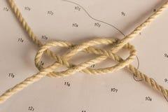 Knoten nautisch Stockfoto