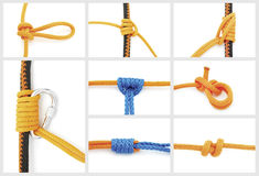 Knots collage Royalty Free Stock Photo
