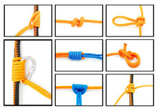 Knots Collage Royalty Free Stock Photography