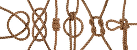 Knots collection Royalty Free Stock Images