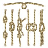 Knots Collection Set Royalty Free Stock Image