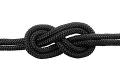 Knots. Figure Eight Bend #1 Stock Photography