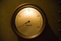 Knots gauge Royalty Free Stock Photo