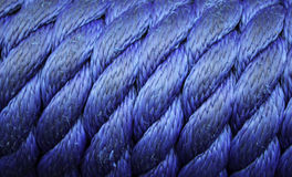 Knots on rope Royalty Free Stock Images