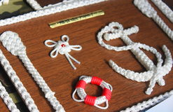 Knots. Various on a pice of wood Royalty Free Stock Photography