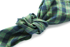 Knotted handkerchief Stock Photography