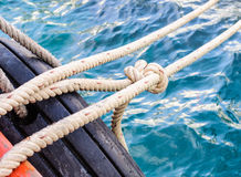 Knotted rope Royalty Free Stock Photos