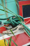 Knotted ropes Stock Photos