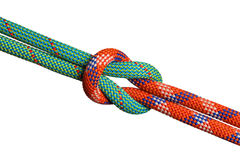 Knotted ropes Stock Image