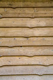 Knotty cedar siding Royalty Free Stock Images
