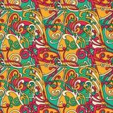 Knotty helder patroon Royalty-vrije Stock Afbeeldingen
