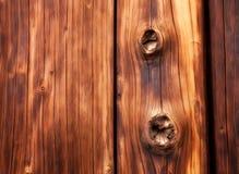 Knotty houten abstracte achtergrond stock afbeelding