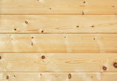 Knotty pine wall background Royalty Free Stock Images