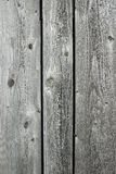 Knotty wood background. Unpainted wooden planks. Knotty wood texture background stock photography