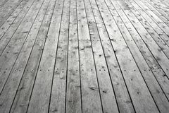 Knotty wooden floor Royalty Free Stock Photography
