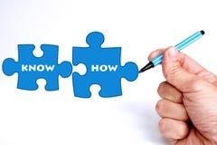 Know-how stock abbildung