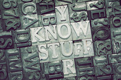 Know stuff met Stock Images