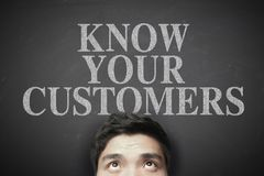 Know your customers Royalty Free Stock Photography