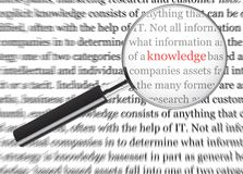 Knowledge Stock Image