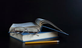 Knowledge can not be bought, read a book in them the wisdom of mankind Royalty Free Stock Images