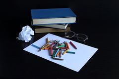 Knowledge can not be bought, read a book in them the wisdom of mankind Royalty Free Stock Image