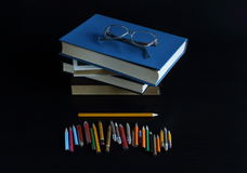 Knowledge can not be bought, read a book in them the wisdom of mankind Royalty Free Stock Photo