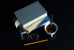 Knowledge can not be bought, read a book in them the wisdom of mankind Royalty Free Stock Photography