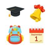 Knowledge day symbols Stock Image