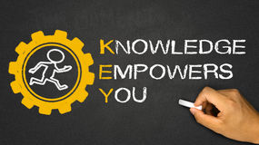 knowledge empowers you Royalty Free Stock Images