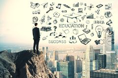 Knowledge and idea concept royalty free stock photo