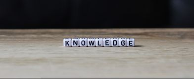 Knowledge. Intellect, knowledge, growth, innovation improve lives of everyone worldwide. Education and learning royalty free stock photography