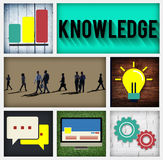 Knowledge Intelligence Genius Expertise Education Concept Stock Image