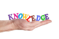 Knowledge itself is power stock image