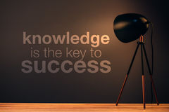 Knowledge is the key to success Royalty Free Stock Images