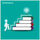 Knowledge and learning concept. Stock Photos
