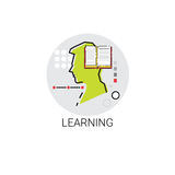 Knowledge Learning Online Education Icon royalty free illustration