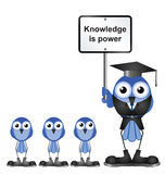 Knowledge message Royalty Free Stock Images