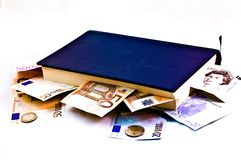 Knowledge is money Royalty Free Stock Image