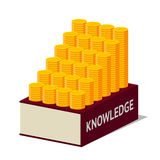 Knowledge and money Royalty Free Stock Image