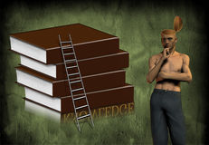 Knowledge and open mind Stock Photos
