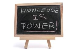 Knowledge is power Royalty Free Stock Photography